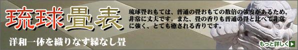 琉球畳表 洋和いったいを織り成す縁なし畳